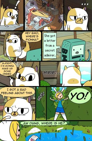 MisAdventure Time Special - The Cat, The…