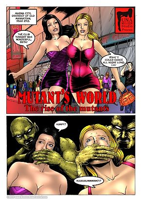 Mutants World 1 - The Rise Of The Mutan…