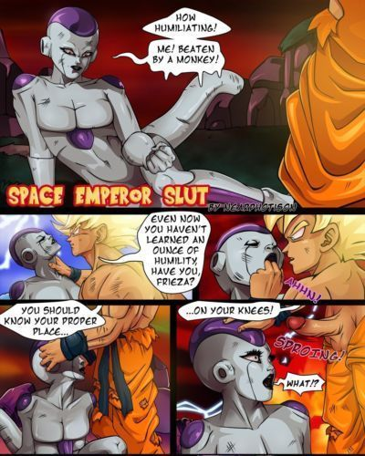 DBZ  Space Emperor Slut- Nearphotison