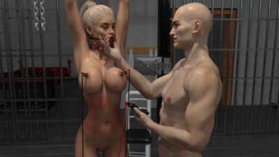 3DZEN – Shades of Darkness 2 – Kari & Zoey - part 8