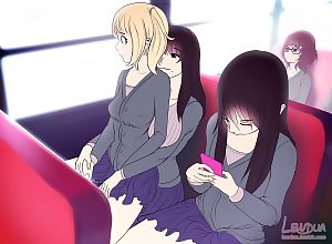 Nessie And Alison - On The Bus - part 2