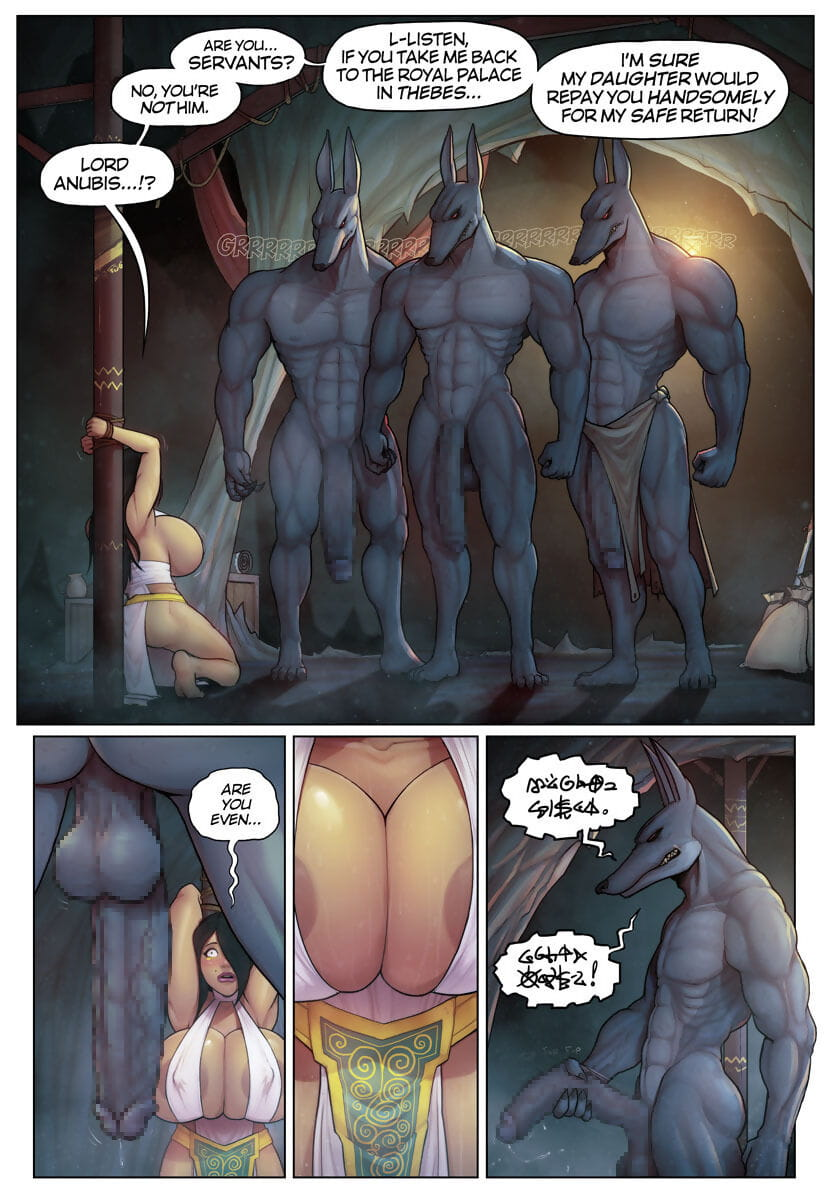 Anubis Porn