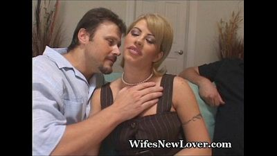 Big Cock Friend Fucks My Wife - 3 min
