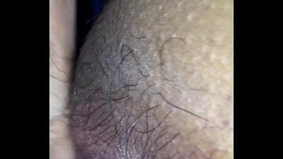 Delhi wife - hairy pussy and ass hole licked - 2 min