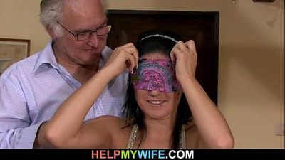 Sultry wife rides stranger\