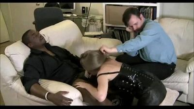 Wife Cuckolds A Big Black Cock - 5 min