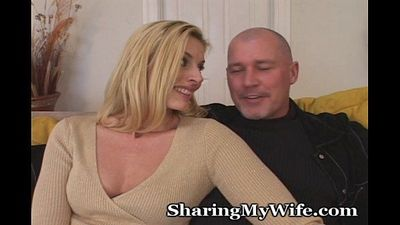 Wife Erecting Young Man\