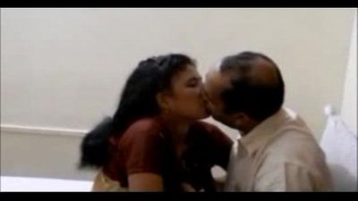 Indian wife pleasing her hubby boss for his premossion - 3 min