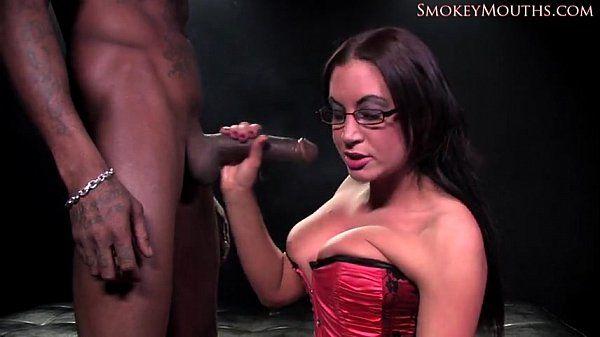 Emma Butt interracial smoking sex