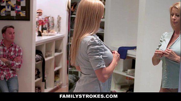 FamilyStrokesMilf Hardcore Fucked By StepSonHD