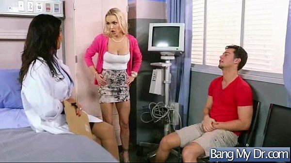 Hard Sex In Doctor Office With Horny Patient (devon lezley) vid-10
