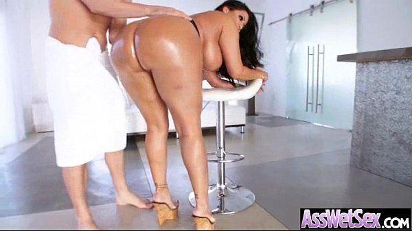 Anal Deep Hard Nailed A Big Curvy Huge Ass Oiled Girl (kiara mia) video-17