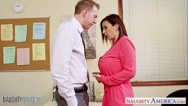 Brunette milf Sara Jay fucking in the officeHD