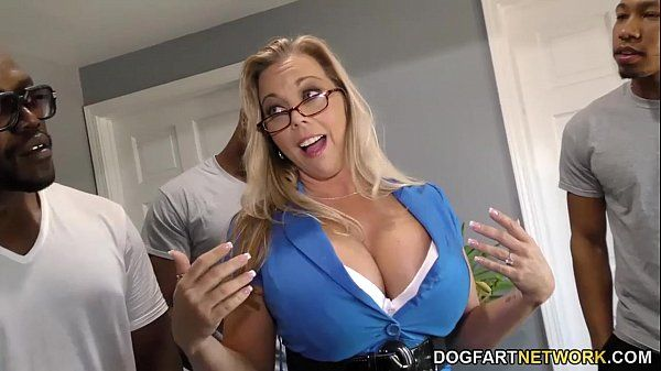 Amber Lynn Bach gets gangbanged and creampied by BBCsHD