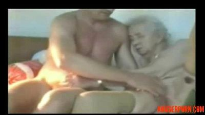 Very Old Granny Used by Younger Man Amateur Older: Porn rough - abuserporn.com - 1 min 32 sec