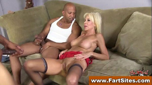 Interracial loving cougar fucked
