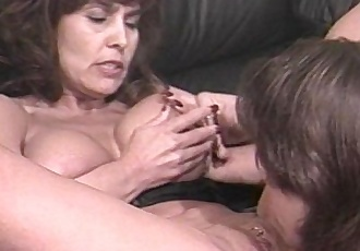 A HORNY Mature Gal Bangs her young lover.