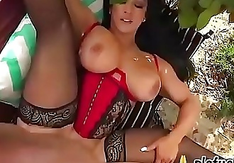 Stepmom caught squirting outdoor and fucked by TARZAN 28 min