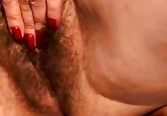 Granny With Extremely Hairy Pussy Gets Fucked 8 min HD