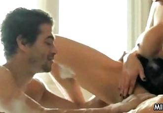 Hot Dirtytalking Cougar Smoking Sex
