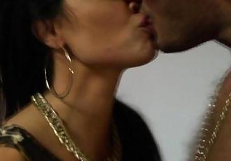 Busty raven Jasmine Jae getting nailed - 10 min HD