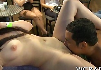Sexy interracial blowjobs - 5 min