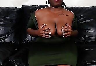 Big Black Booty BBW Cumming For An Interview 11 min HD+