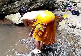 Fucking Indian Mom Near Waterfall Forest Outdoor Sex 6 min 1080p