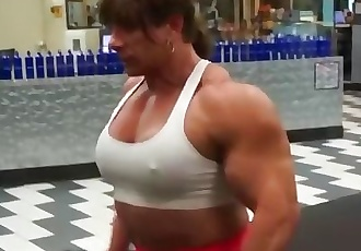 Tina Lifting Heavy