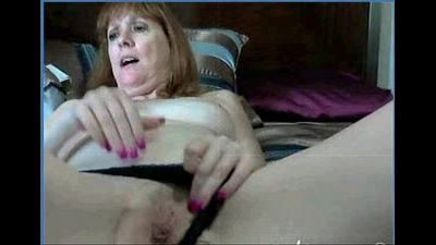 My 52yr old Fuck Friend Trix Fingering her Cunt on Cam =L2M= - 1 min 28 sec