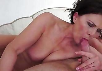 Chubby granny gets hairy pussy fucked deeply 6 min 720p