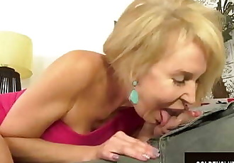 Sexy Granny Erica Lauren Takes a Cock Deep in Her Mouth and Pussy 8 min