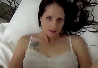 Mom & Son Share a BedMom Wakes Up to Son MasturbatingPOV, MILF, Family Sex, MotherChristina Sapphire 10 min 1080p