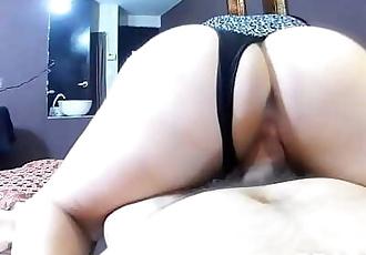 Fucking big ass of my girlfriends mom, three times 10 min