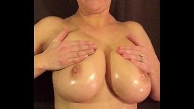 Busty Wife Huge Boobs - 40 sec