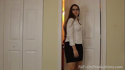 Madisin Lee in Feeling Better Son. Mom sucks son dick. Virtual blowjob - 2 min HD
