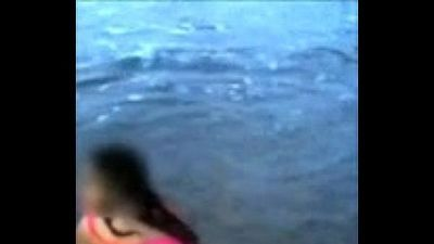 Indian Mom On Beach - 29 sec