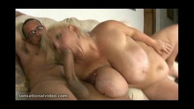 Huge Tit BBW Mom Fucks Massive Cock - 4 min
