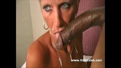 Old Mom Gets Blasted BBC - 3 min