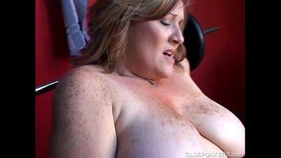 Mature BBW big tits - 5 min