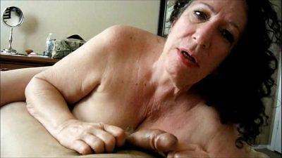 Horny Grandma POV Blowjob - 6 min