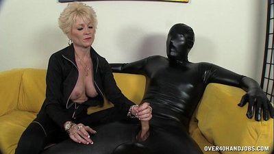 Dominant Granny Dominates Her Slave - 4 min HD