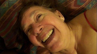 mexican granny sucking dick and playing with one of her toys - 7 min