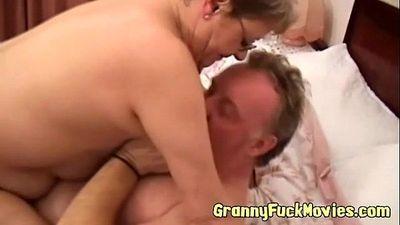 Horny mature couple pounding - 6 min
