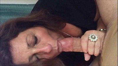 Granny Cocksucker Amateur Video HOMEMADE - 6 min
