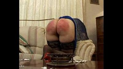 Discipline at home with naughty Pauline - sub Alison - 4 min