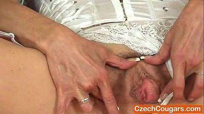 Naked grannie cuddly corset - 6 min