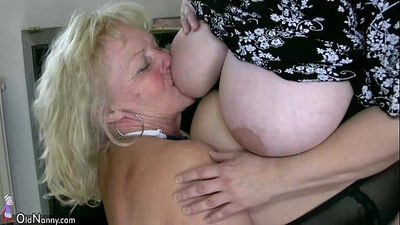 OldNanny Sexy chubby mature and bbw granny - 8 min HD