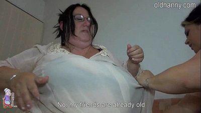 Old fat women fucking it bed - 5 min HD