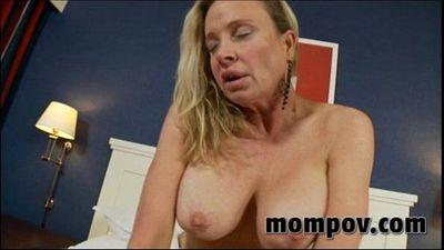 sexy milf titty fucks young cock - 5 min